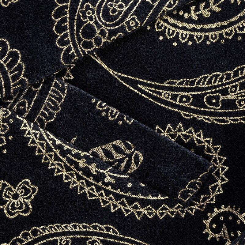VAGUELETTE, итальянский стиль, модная куртка, блейзер для мужчин, Роскошный рисунок, сценический блейзер для мужчин, Венецианский узор, блейзеры ... - 4