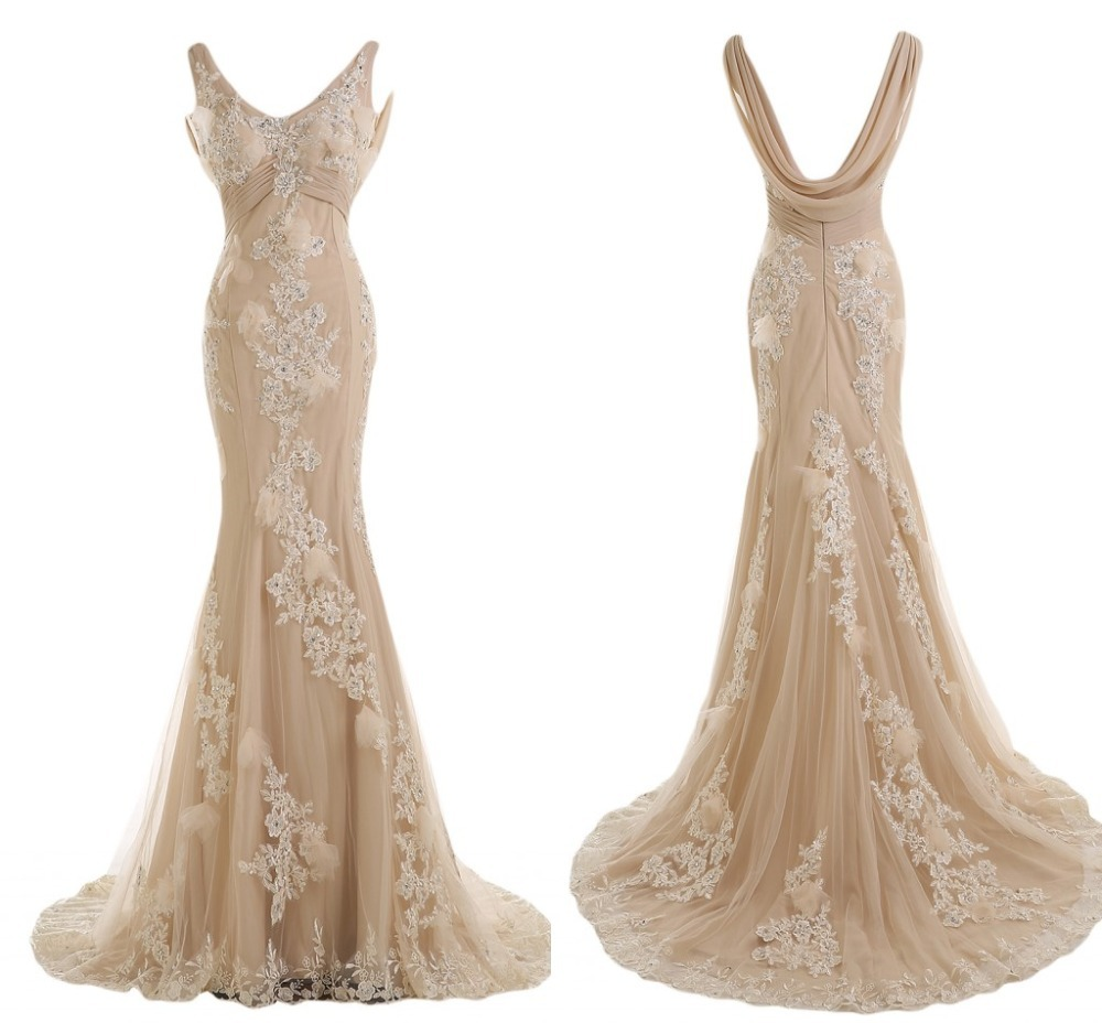Vestido De Festa Longo V Neck Evening Prom Gown 2020 Vestido De Formatura Long Mermaid Backless Mother Of The Bride Dresses