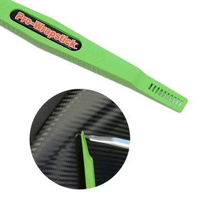Image 4 - EHDIS 1/3pcs adesivo in fibra di carbonio magnete Stick tergipavimento pellicola in vinile avvolgimento raschietto Kit accessori auto pellicola per vetri tinta strumento