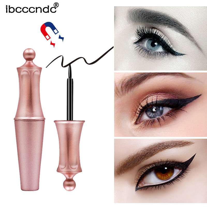 Magnetic Liquid Eyeliner for Magnetic False Eyelashes Waterproof EyeLiner Makeup Easy To Wear Quick Dry Magnetic Eye Liner image