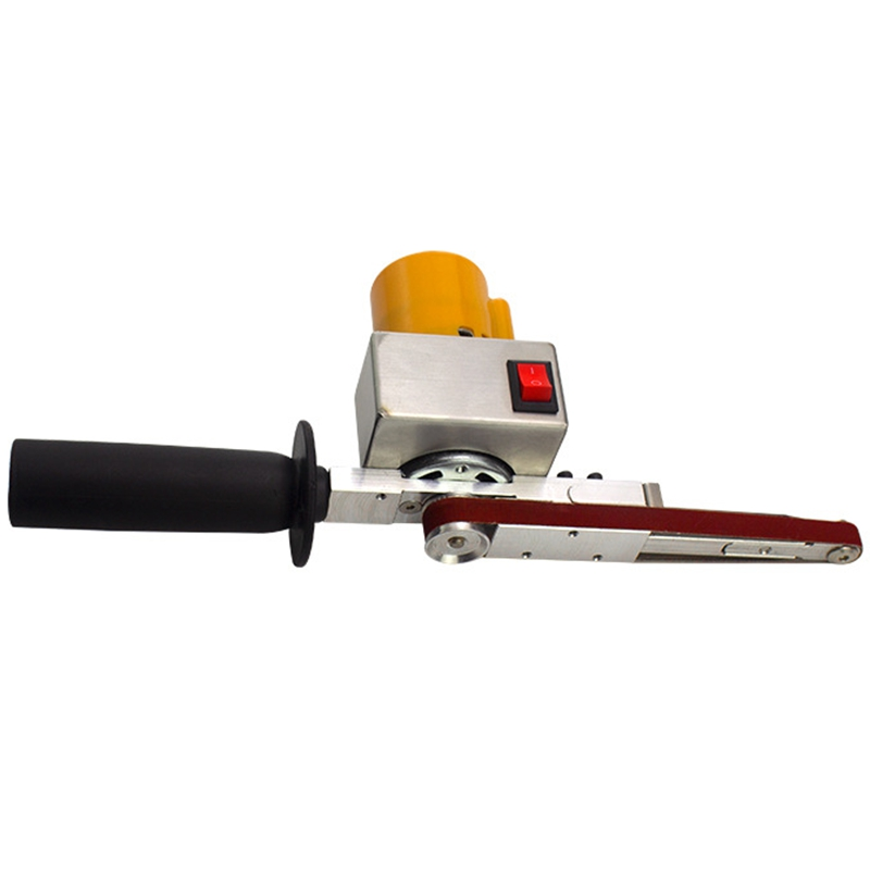 Handheld Electric Belt Sander Mini Sanding Machine Angle Grinder with Sanding Belt for Sanding Polishing Micro  Polishing Machin|Sanders| |  - title=