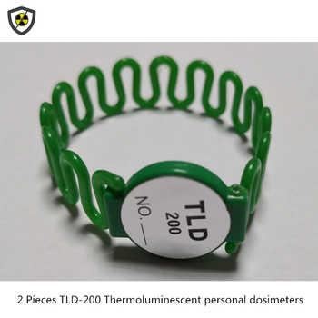 2 sztuk TLD-200 thermoluminescent ręcznie pierścień typu dozymetry chirurgii interwencyjnej skorzystaj z promieniowanie radioaktywne monitorowania karty - DISCOUNT ITEM  12 OFF All Category