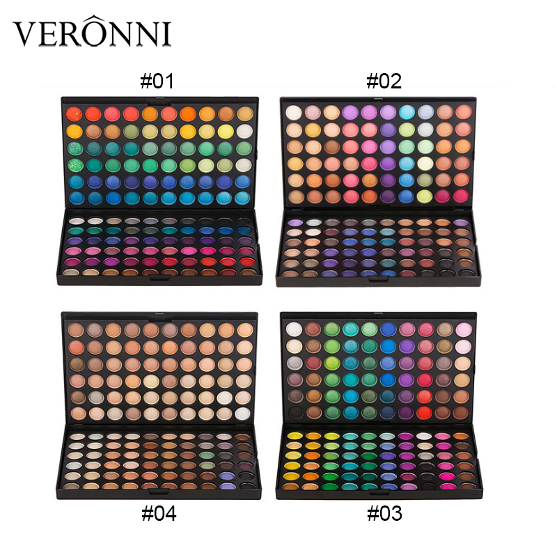 120 Colors Glitter Eyeshadow Palette Shimmer Pigment Matte Eye Shadow Palette Nude Make Up Cosmetic Palette Eyeshadow Set