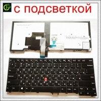 Nieuwe Russische Backlit Toetsenbord Voor Lenovo Thinkpad L440 L450 L460 L470 T431S T440 T440P T440S T450 T450S E440 E431S T460 ru