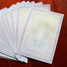 20 листов чистые копировальные бумаги с сертификатом honor Инструкция
