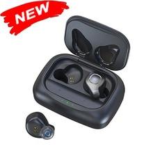 Casque sans fil Bluetooth F8 TWS, 5.0, casque de jeu de 85mAh 12 h, avec puce en faible latence pour les écouteurs étanches à double puce