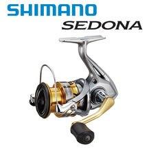 Оригинальная спиннинговая Рыболовная катушка SHIMANO SEDONA C2000S C2000HGS 2500S 500 1000 2500 2500HG C3000 C3000HG 4000 C5000XG для соленой воды
