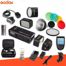 Godox AD200 Kit Pocket Flash Strobe 1/8000 HSS Wireless Monolight 2900mAh Lithimu Battery and Bare Bulb Trigger Kit Optional