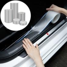3Meters Car Door Protector Stickers Strip Bumper Protector Car Anti-Collision Tape Door Edge Guard Plate Car Styling Accessories