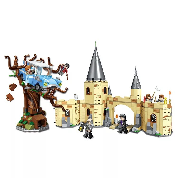Image 4 - 39147 536pcs Figures 75956 Brick Toys for Children Harri Potter Magic Quidditchs Match Model Compatible with Legoings 11004-in Blocks from Toys & Hobbies
