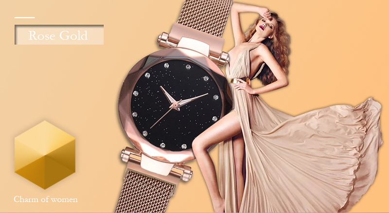H92600ac0e56044f69ad5f4ec461f55ebf Luxury Women Watches Ladies Magnetic Starry Sky