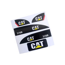 Carter Sticker set for Huina 550 RC Excavator Amewi(China)