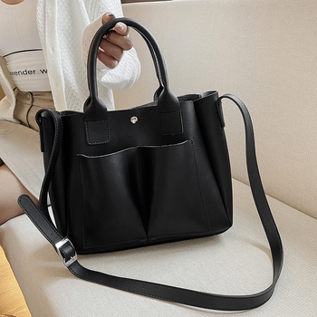 Fashion Women Pu Leather Handbags Designer Ladies Shoulder Bag Casual Female Tote Messenger Bags Small Crossbody Bags for Women image
