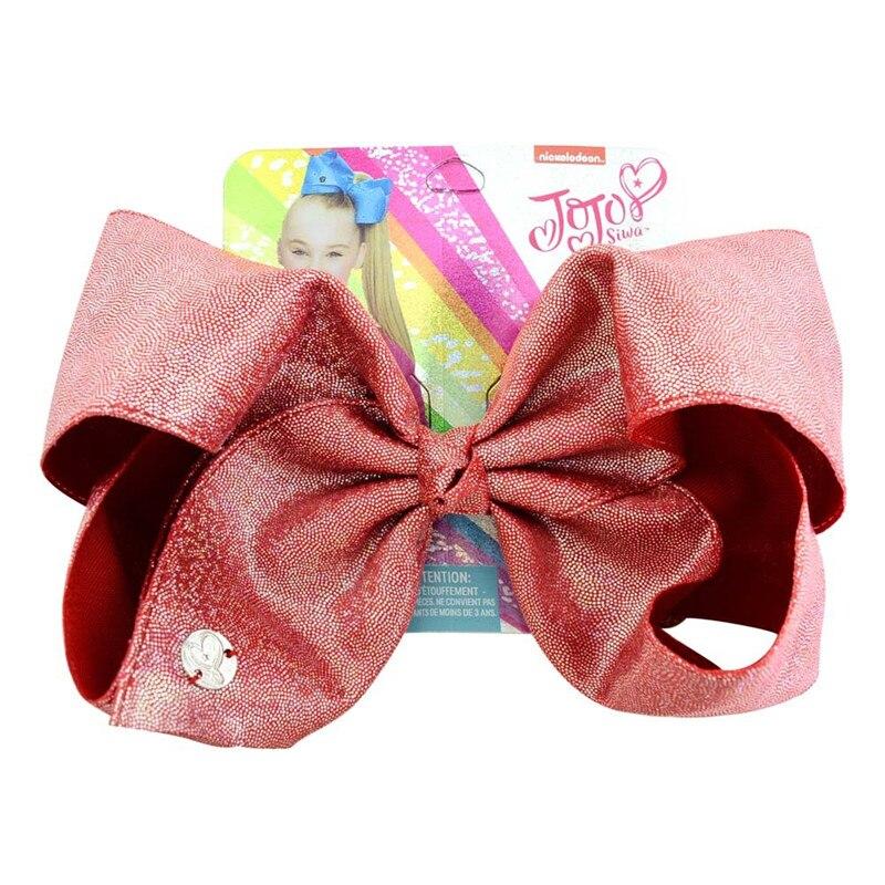 Jojo Siwa Girl Kids Rainbow Hair Bow Clip Multi Coloured Ribbon Frozen Bows Gift