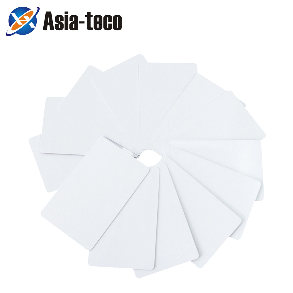 100pcs/lot 13.56MHz UID IC Clone Copy White Card Changeable Smart Card Duplicator Copy IC Card