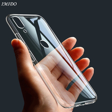 IMIDO Transparent TPU Case for Huawei Honor 8X Max 8A V20 Soft Silicone Cases Protective Cover