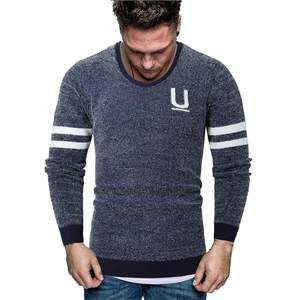 Men Sweater O-Neck Knitting Long-Sleeve Winter High-Quality Casual New Autumn Blouse
