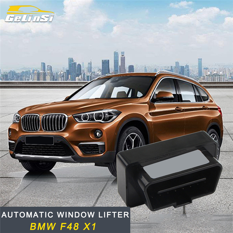 GELINSI For BMW F48 X1 2016 2017 2018 Auto Car-styling Automatic Window Lever Lifter OBD Interior Accessories