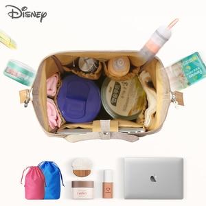 Image 4 - Yeni Disney Minnie Mickey bebek bezi çantası sırt çantası mumya annelik bebek çantası büyük kapasiteli bebek bezi değiştirme çanta düzenleyici