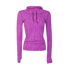 Для похудения фитнес с длинным рукавом Женская Спортивная толстовка стрейч быстросохнущая одежда для йоги тренировочная Базовая рубашка