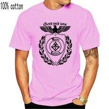 T-Shirt Maurer Gott Mit Uns Handwerk Zunft Mason Gott mit Uns Handwerk Guild Hohe Qualität 2020 Sommer Neue Kostüme Männer oansatz T