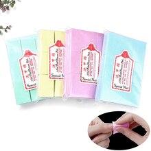 Nail-Polish-Remover Nail-Wipes Napkins Nail-Art-Tool Manicure-Gel Bath Lint-Free Cotton