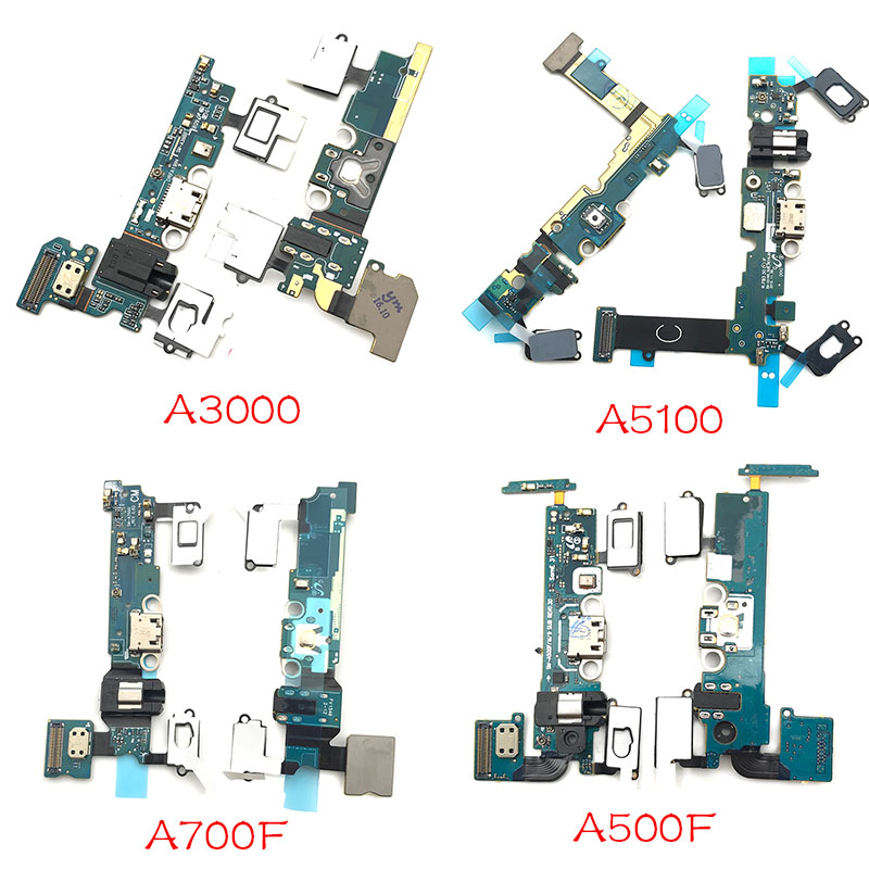 USB Charging Board For Samsung A3 A5 A7 2015 2016 A300F A500F A700F A310F A510F A710F Micro Dock Charger Port Flex Cable