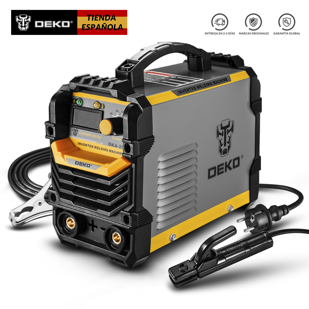 DEKO DKA-200Y 200A 4.1KVA Inverter Arc Electric Welding Machine 220V MMA Welder For DIY Welding Working And Electric Working