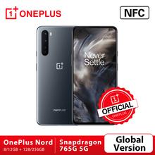 Globalna wersja OnePlus Nord 5G Snapdragon 765G Smartphone 8GB 128GB 6 44 #8221 90Hz ekran AMOLED 48MP Quad Cams Warp Charge 30T tanie tanio Nie odpinany CN (pochodzenie) Android W-ekran rozpoznawania linii papilarnych Do 120 godzin 4100 Dash ładowania Smartfony