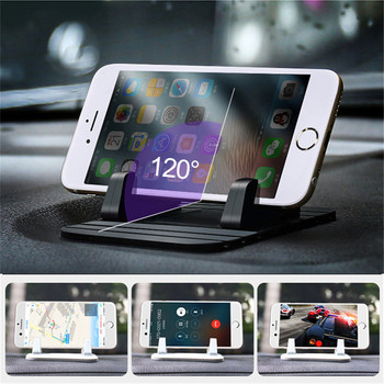 Universal Silicone Car Mobile Phone Holder For Nissan Qashqai J10 J11 Juke T32 Car GPS Stand For iPhone Samsung Xiaomi Huawei image