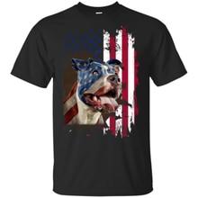 4Th Día de la independencia de Julio Pitbull americano hombres camiseta S-6Xl Vintage, escape, Sin City, blanco sobre negro, silkscreen, mano impresa, Camiseta de algodón,