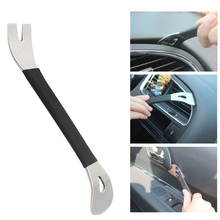 New Stainless Steel Trim Removal Tool Car Trim Puller Pry Bar Dual Ends Pry Tools for Door Panel Audio Terminal Fastener Remover