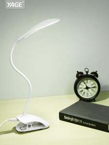YAGE Desk-Lamp Book-Light Clip-Bed Table Touch Reading 3-Modes 14 LED USB with YG-5933