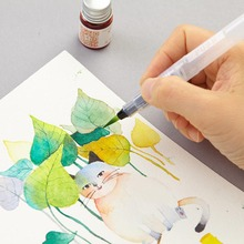 6pcs Water Color Brush Pen Soft Watercolor For Beginner Painting Drawing Art Supplies PUO88
