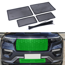 Net Explorer Car-Accessory Front-Grille-Insert Ford ST Dust Garbage-Proof Stainless Inner-Cover-Mesh