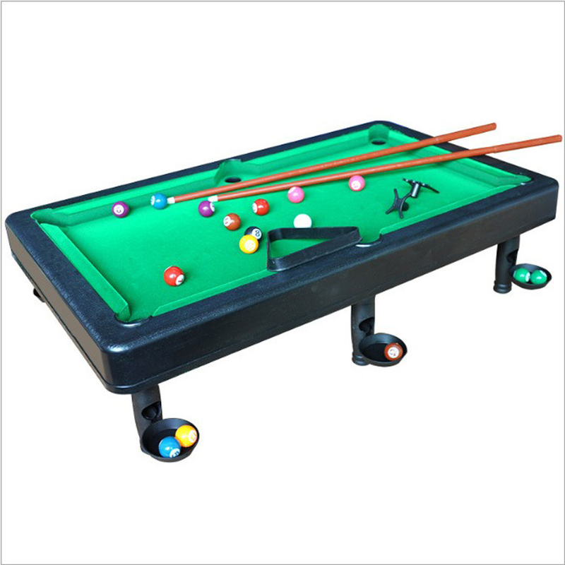Sports Simulated Billiards Doubles Family Entertainment Interactive Table Games Mini Billiards Parent-child Indoor Toys Gift