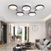 Dimming modern led ceiling lights living room bedroom study balcony minimalist Plafon led ceiling lamp home lighting AC85 260V