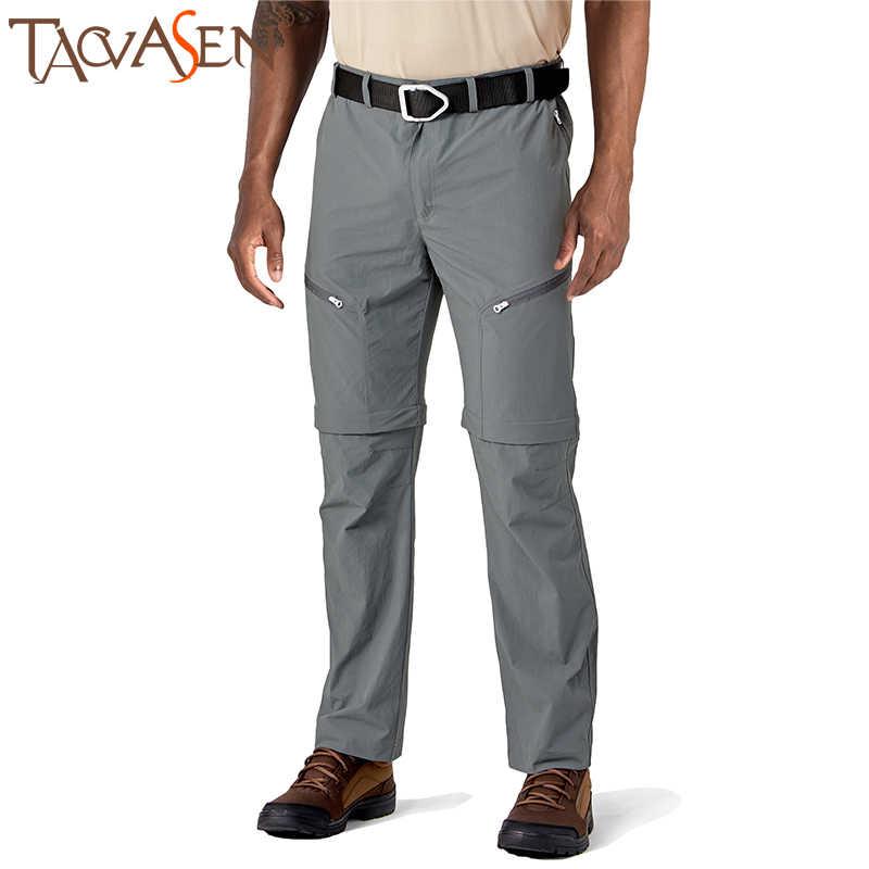 M.L Homme Noir Taille Élastique Imperméable Zip-off Jambe Respirant Pantalon XL