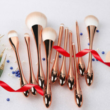 Professional 3/5/10pcs Makeup Brushes Set Powder Foundation Eyeshadow Make Up Brush Cosmetic Synthetic Hair Makeup Soft Brushes