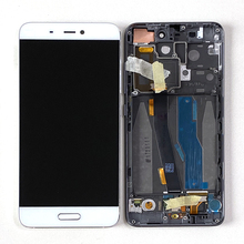 "5.15"" Original M&Sen For Xiaomi 5 Mi5 M5 LCD Screen Display+Touch Digitizer With Frame + Fingerprint For Xiaomi Mi 5 LCD"