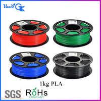 1 kg 2.2lb 1.75mm pla filamento da impressora 3d para impressora 3d desenho impressão caneta makerbot reprap casa diy rohs