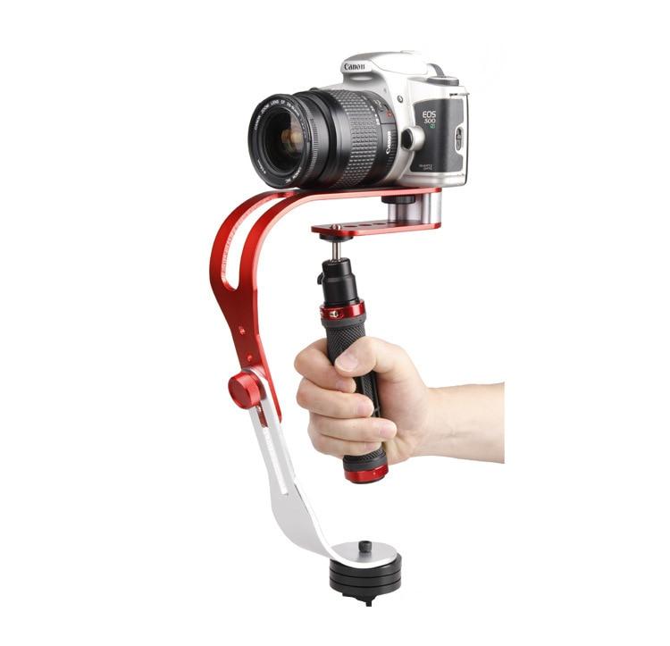 Сплав Алюминиевый Мини Ручной цифровой стабилизатор камеры видео Steadicam мобильный DSLR 5DII Motion DV Steadycam для камеры Gopro