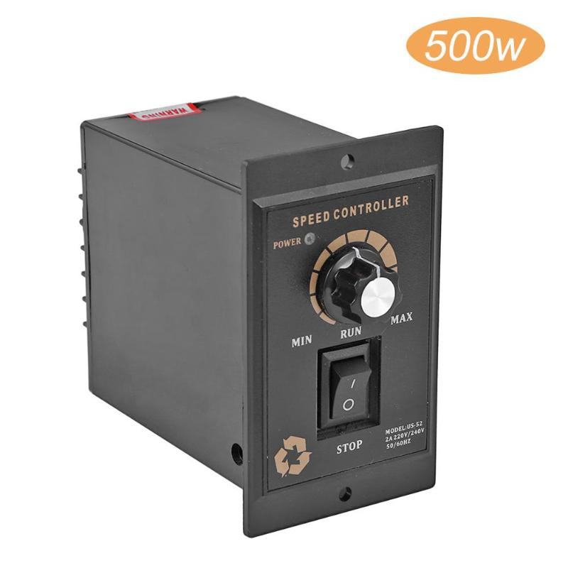 500W AC 220V Motor Speed Controller Pinpoint Regulator Controller Forward And Backward Motor Speed Controller