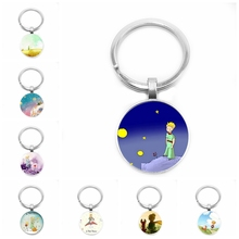 2019 New Classic Le Petit Prince Keychain Planet Little Fox Rose Fairy Tale Creative Pendant Childrens Jewelry