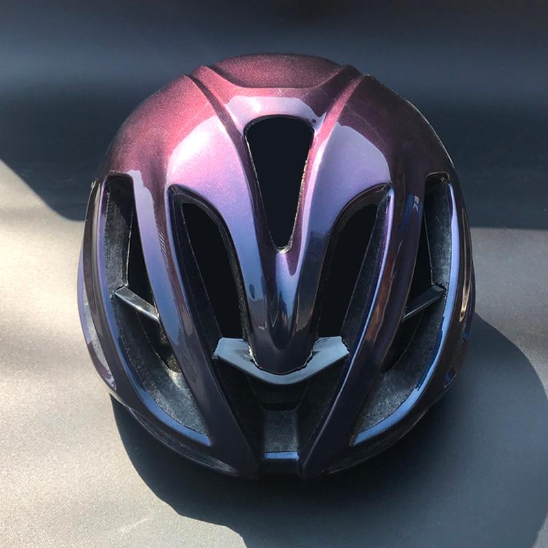 Casque de cyclisme aero rouge vélo de route en casque de vélo pour adultes hommes femmes vtt VTT casco ciclismo casque de vélo Trail
