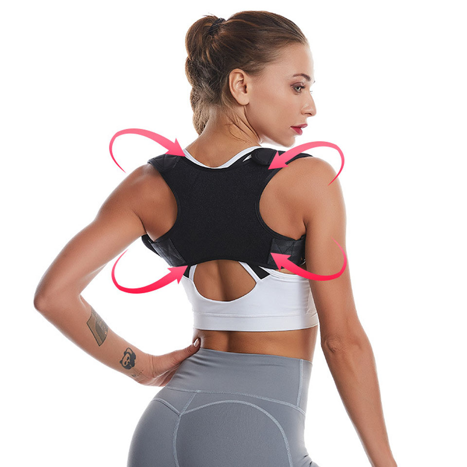 Hot Sale Posture Clavicle Support Corrector Back Straight Shoulders Brace Strap Correct Bone Care Posture Clavicle Support Belt