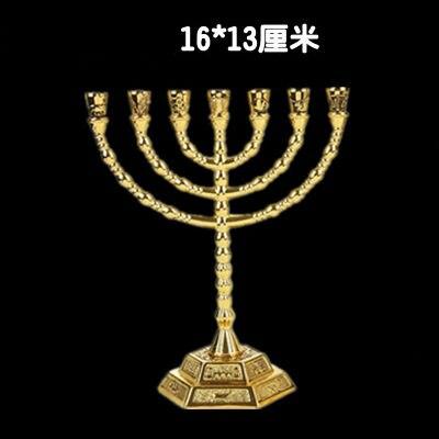 Христос Иисуса Золотой фонарь маятник подсвечник церковный стол украшение стола образец Сакральная статуя церковные принадлежности - Цвет: a