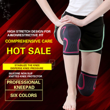 CHIWANG 1PCS 2020 Knee Support Professional Protective Sports Elastic Knee Pads Breathable Basketball Volleyball Brace Protector
