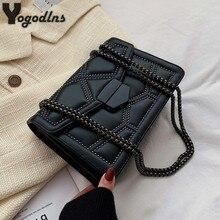 Rivet Chain Small Crossbody Bags For Women 2021 Shoulder Messenger Bag Lady Luxury Handbags