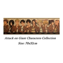 Anime aggressive giant characters collection kraft poster room decoration painting wall stickers home decoration pictures archie giant comics collection